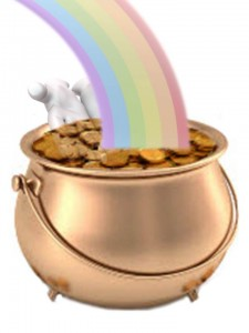 Reaching into the Pot of Gold