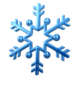 snowflake arrow design
